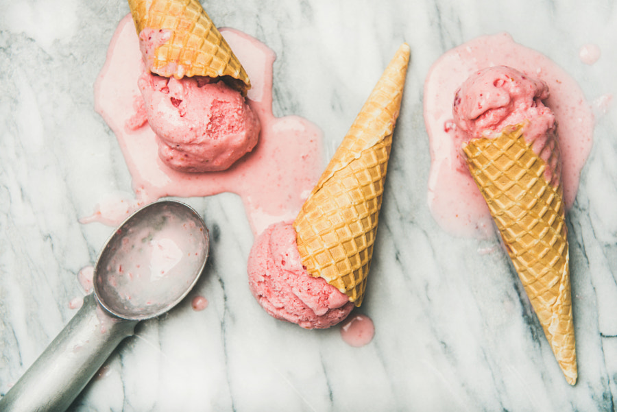 pink icecream